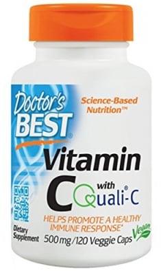 Doctor's Best Vitamin C 500 mg 120 capsules / Доктор'с Бест Витамин Ц 500 мг. 120 капсули
