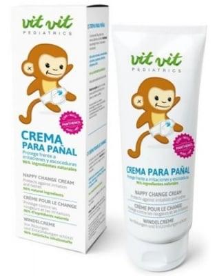 Vit vit nappy change cream 100 ml. / Вит вит педиатрикс крем срещу подсичане 100 мл.