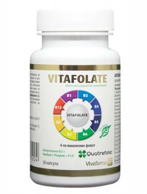 Vitafolate 30 capsules / Витафолат 30 капсули