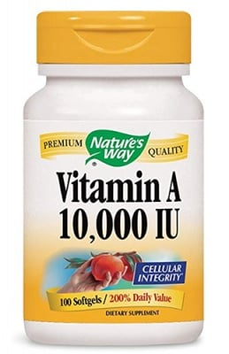 Vitamin A 10000 IU 100 capsules Nature's Way / Витамин А 10000 IU 100 капсули Nature's Way