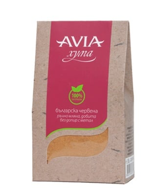 Avia red clay powder 250 g / Авиа Червена хума на прах 250 гр.