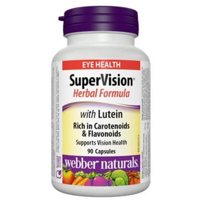 Webber Naturals SuperVision with Lutein 90 capsules / Супер Вижън с Лутеин 90 капсули