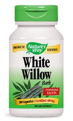 White willow bark 400 mg 100 capsules Nature's Way / Бяла върба кора 400 мг. 100 капсули Nature's Way