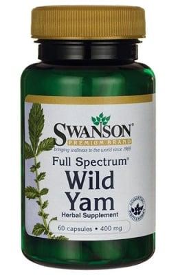 Swanson Wild yam 400 mg 60 capsules / Суонсън Див ямс 400 мг. 60 капсули