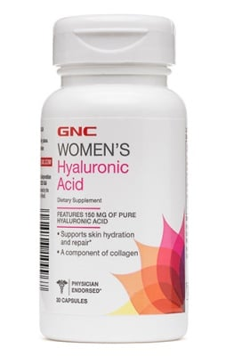 Women's hyaluronic acid 150 mg 30 capsules GNC / Хиалуронова киселина 150 мг. 30 капсули GNC