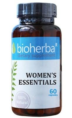 Bioherba women`s essentials 60 capsules / Биохерба Формула за Гинекологична подкрепа 60 капсули