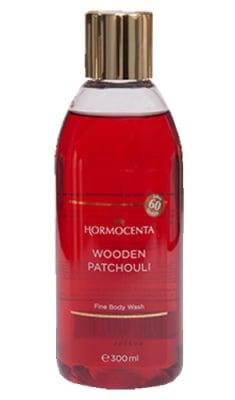 Hormocenta body wash Wooden patchouli 300 ml. / Хормоцента душ-гел Пачули за суха кожа 300 мл.