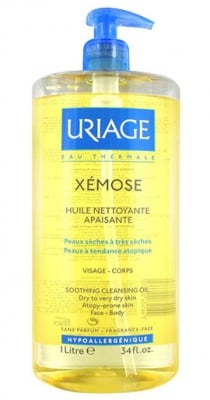 Uriage XEMOSE Cleansing soothing oil for dry skin 1 l. / Уриаж XEMOSE Почистващо и успокояващо гел олио за суха кожа 1 л.