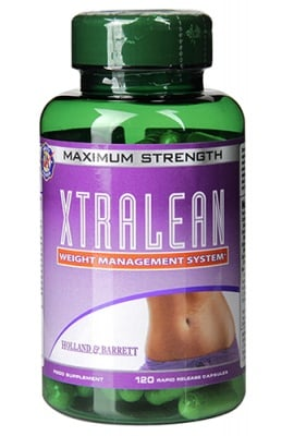 Xtralean 120 capsules Holland & Barrett / Екстралийн формула за контрол на тегло 120 капсули Holland & Barrett