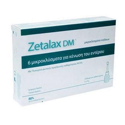 Zetalax DM microclisma for adults 6 pcs. / Зеталакс ДМ микроклизма за възрастни 6 броя