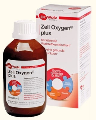 Zell oxygen plus syrup 250 ml Dr. Wolz / Цел оксиджен плюс сироп 250 мл. Dr. Wolz