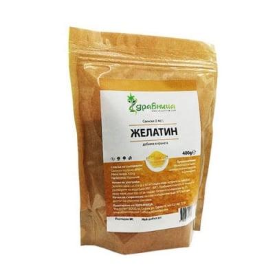 Pork Gelatin powder 400 g Zdravnitza / Свински желатин прах 400 гр. Здравница