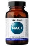 NAC+ 60 capsules Viridian / N-
